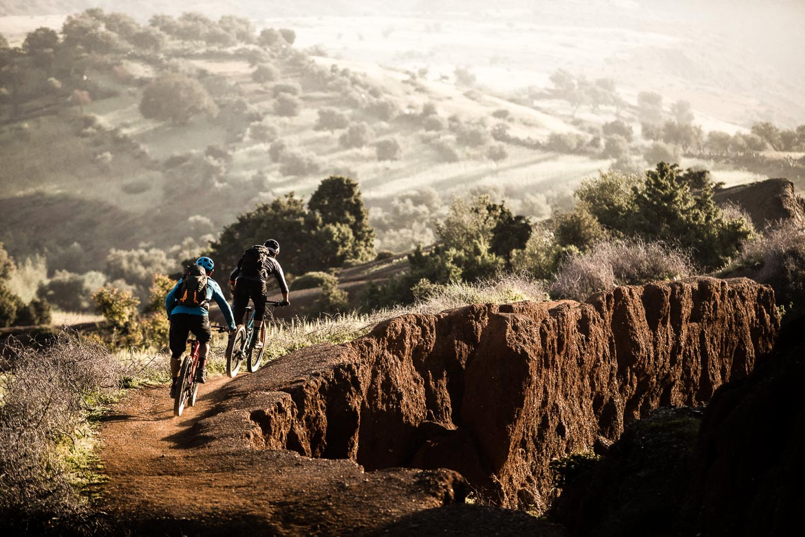 Mountain bike vacation Morocco in photos - fast singletrack