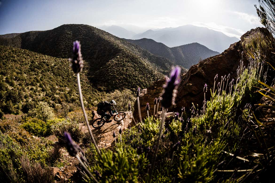 Mountain bike vacation Morocco in photos - valley singletrack