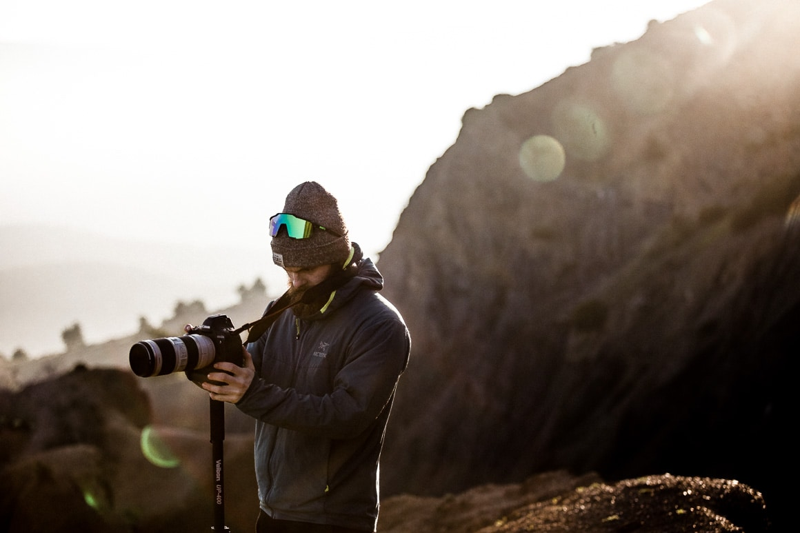 An early morning filming in Morocco. One of our highlights of 2018.