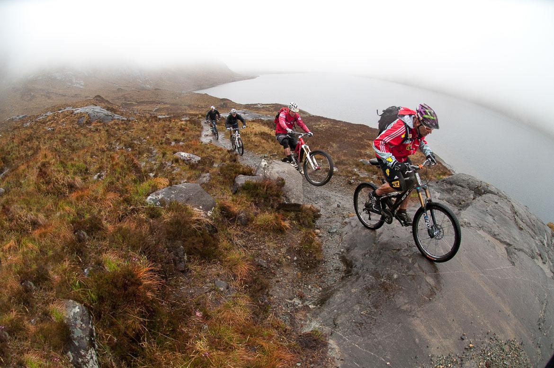 Heli-Biking with Danny MacAskill, Steve Peat, Hans Rey in the Torridon mountains and Sligachan on the Isle of Skye