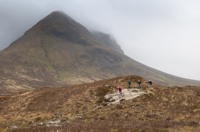 Heli-Biking with Danny MacAskill, Steve Peat, Hans Rey in the Torridon mountains and Isle of Skye
