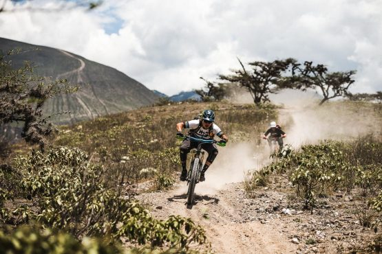 Dusty trails on our MTB holiday Ecuador