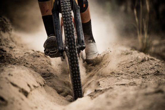 Dusty trails in Ibarra on our MTB tour Ecuador