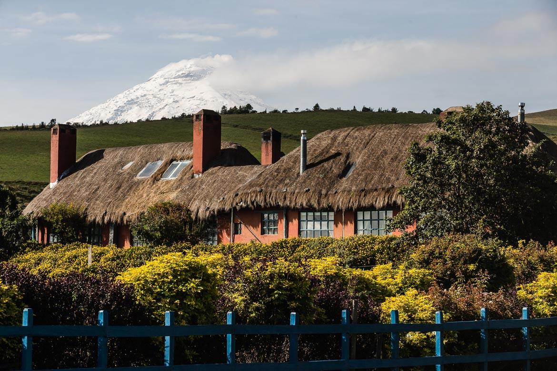Hacienda life on our mountain bike holiday Ecuador