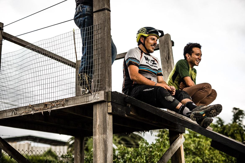 Local mountain bike guide Ecuador José Jijon.