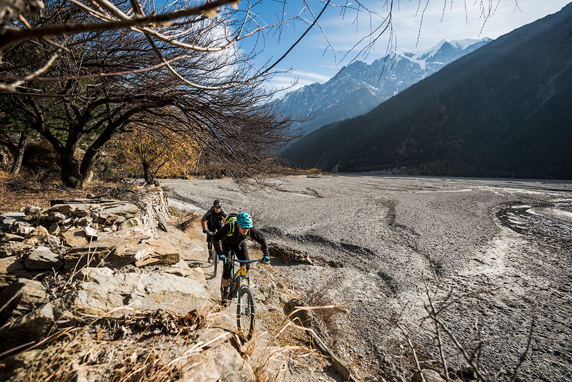 Riding through Nepal as seen in our 10 questions with Yeti Cycles President Chris Conroy interview