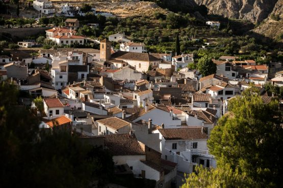 Quaint villages on a Mountain bike tour Spain
