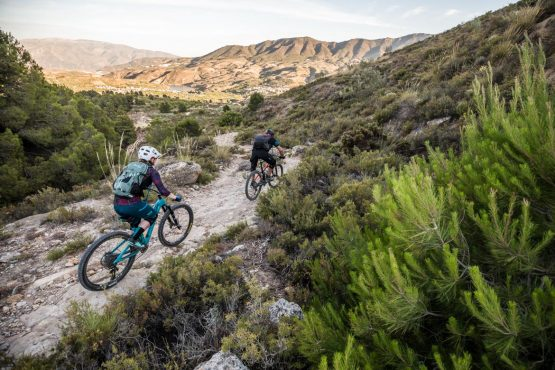 Heading for home - Mountain bike tour Spain