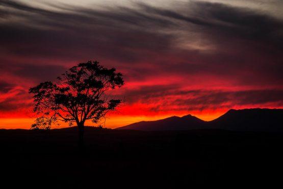 Fiery Spanish sunsets - Mountain bike tour Spain