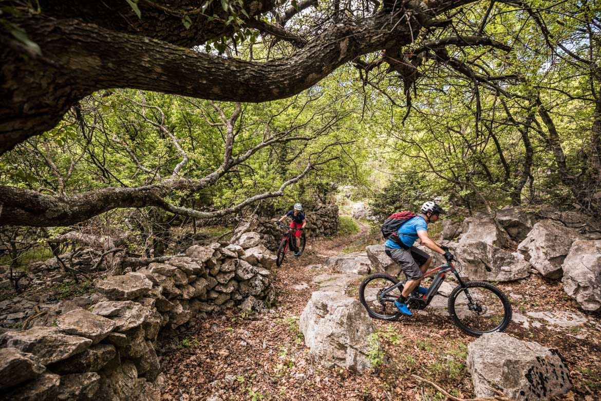 E-MTB tour of Croatia Krk Island