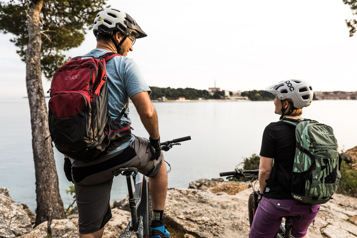 E-MTB tour of Croatia green and blue