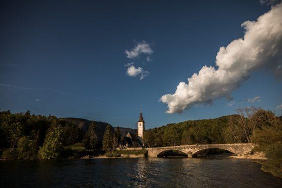 E-MTB tour of Slovenia Lake Bohinj
