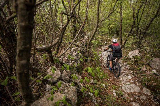 E-MTB tour of Slovenia suitably technical trails