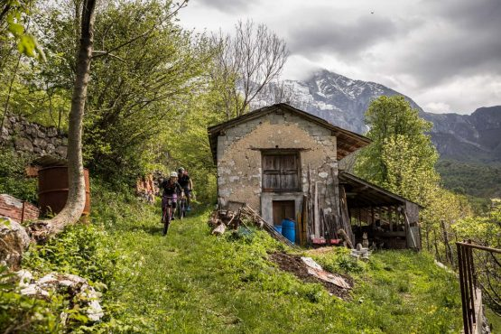 E-MTB tour of Slovenia farm life