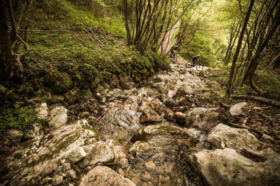 E-MTB tour of Slovenia mountain streams