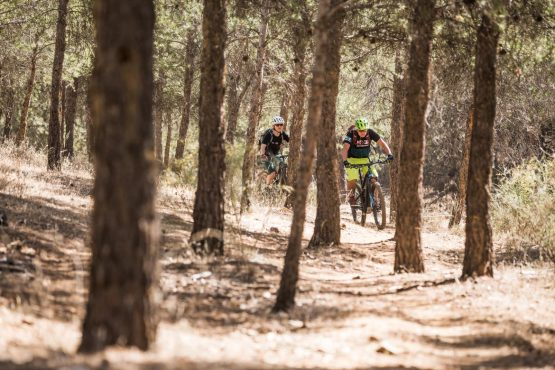 E-MTB tour of Spain forest trails