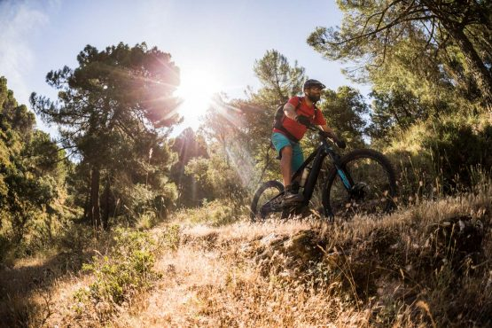varied landscapes on the E-MTB tour of Spain