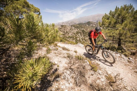High mediterranean trails E-MTB tour of Spain