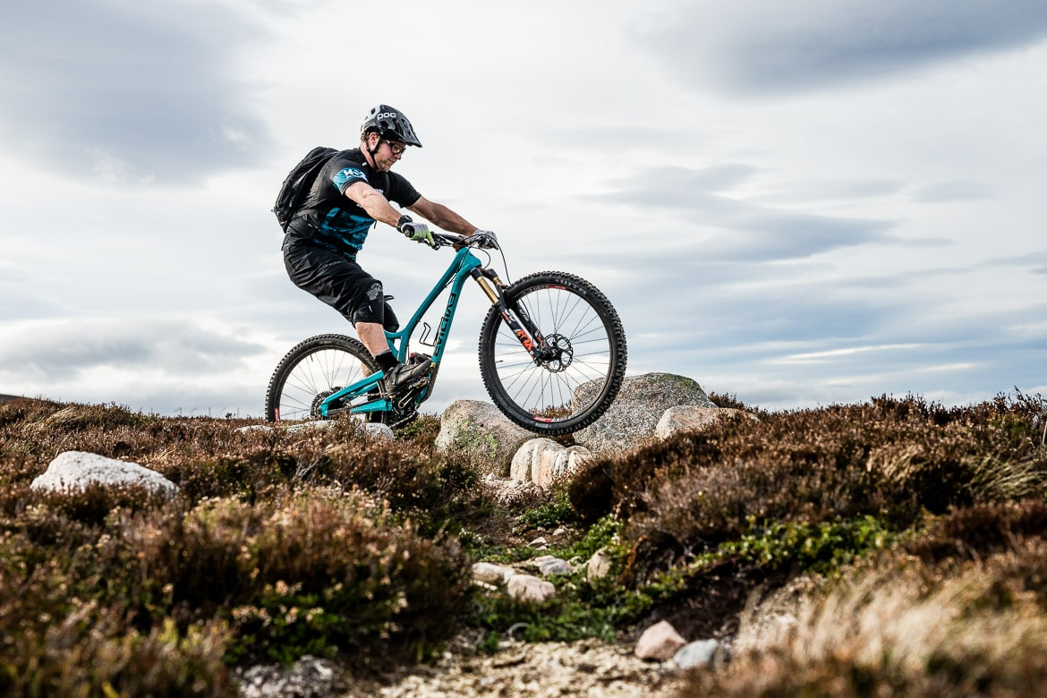 MTBminute mastering step overs on a mountain bike