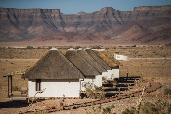 Accomodation on a mountain bike safari tour Namibia