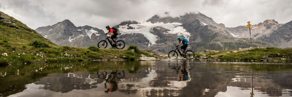 Mountain Bike Tours - E-MTB tours in Switzerland