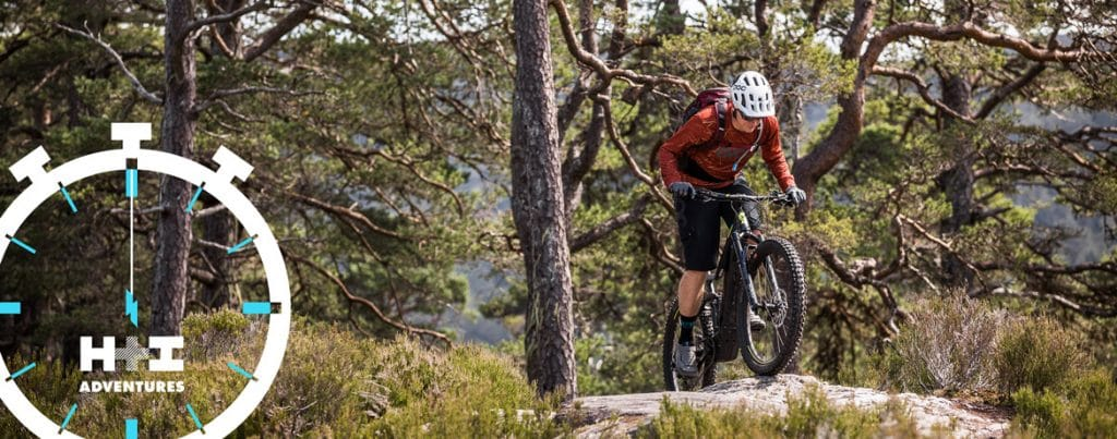 Technical climbs on an E-MTB