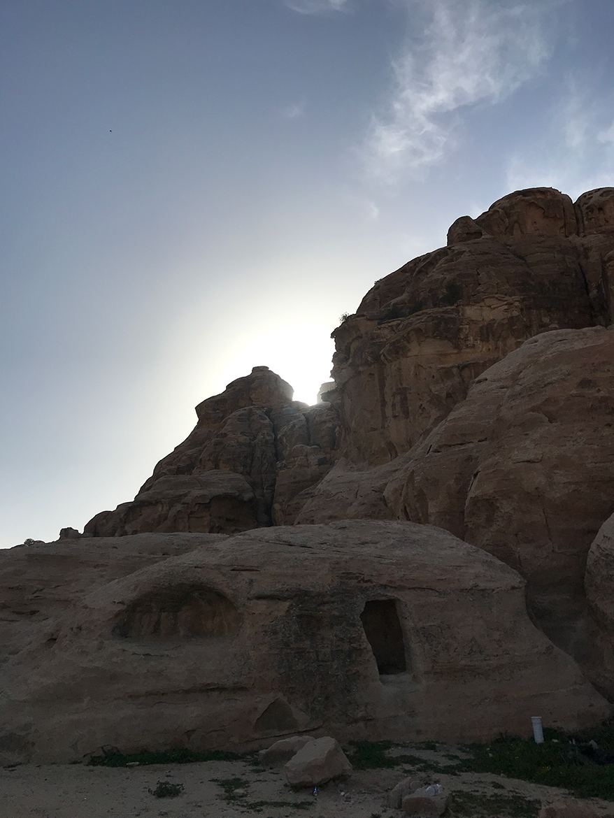 Rock formations in Jordan as part of a H+I Adventures favourite mountain bike moments in 2019.