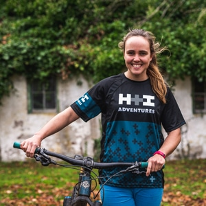 Local Scotland mountain bike guide Ella Wright