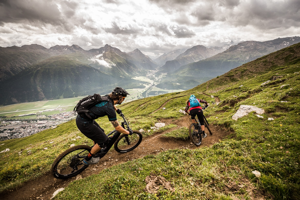 Mountain bike tours - mountain bike guide in Switzerland
