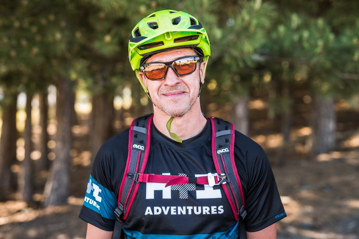 E-mountain bike guides Javier Morcillo