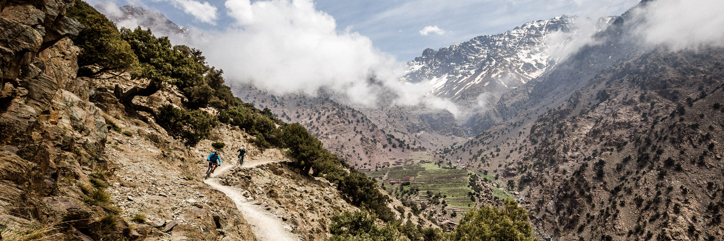 Mountain bike tours worldwide in the Atlas Mountains of Morocco