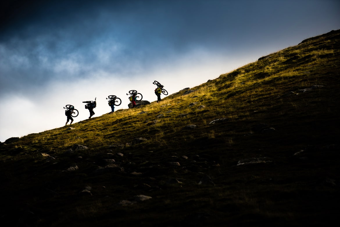 Mountain bike tours worldwide in the fjords of Norway
