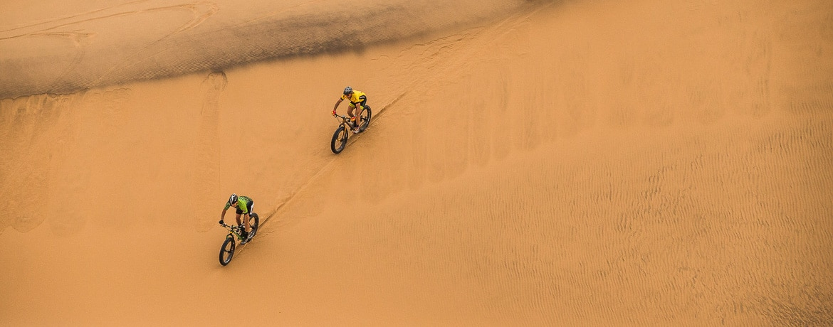 E-mountain bike guides, Namibia, Zieggy