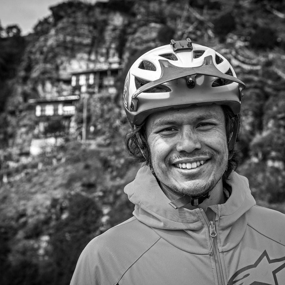 MTB guide Bhutan Pelden Dorji