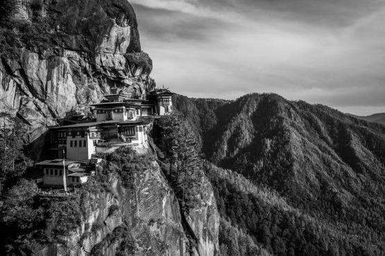 Mountain bike tour Bhutan Tiger's Nest Monastery