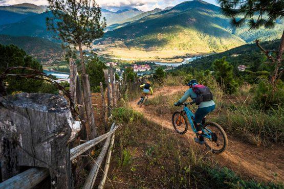 Mountain bike tour Bhutan singletrack perfection