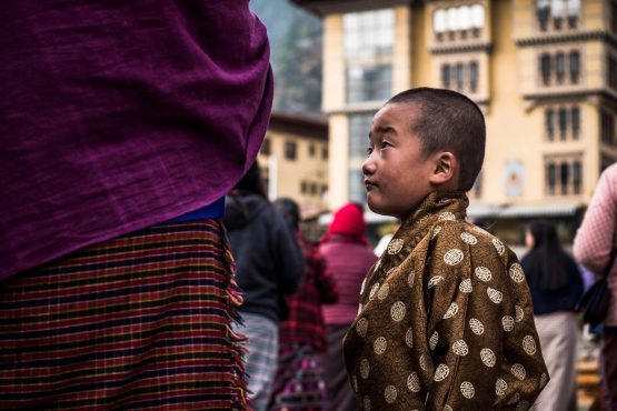 Mountain bike tour Bhutan local culture