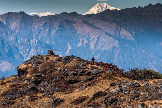 Mountain bike tour Bhutan singeltrack trails