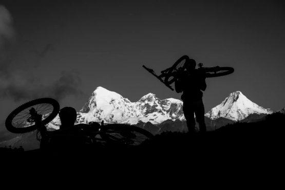 Mountain bike tour Bhutan hike-a-bike