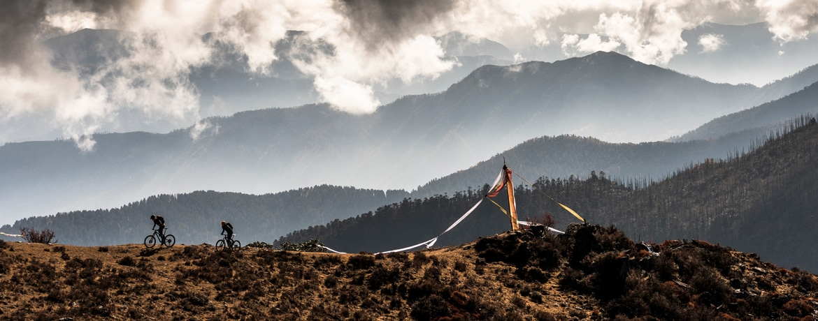 Mountain bike tour Bhutan