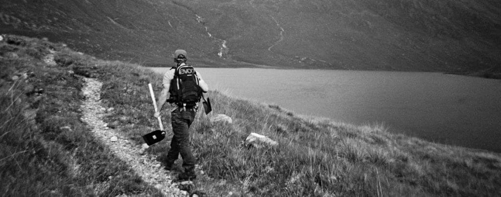 Sustainable trails in Fisherfield, Scotland, paying back