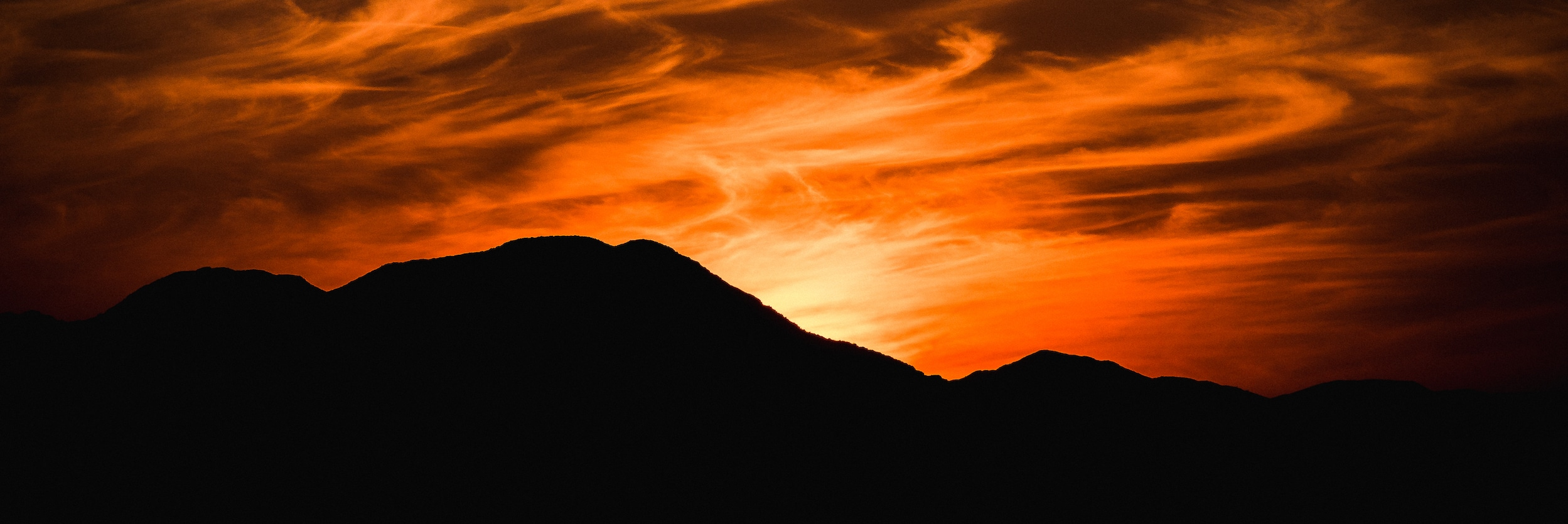 Sunset in Namibia, mountain bike tours worldwide