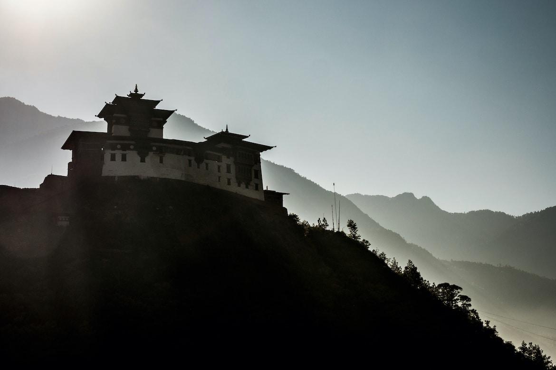 MTB Tours Bhutan monastery