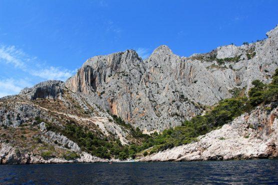 Stunning landscapes, E-MTB Tour Hvar Island