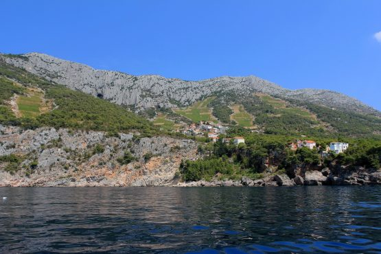 Coastal villages, E-MTB Tour Hvar Island
