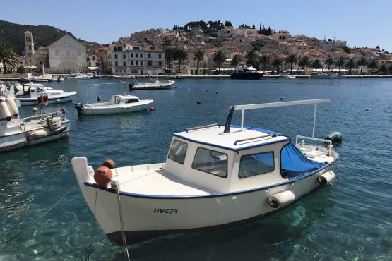 Crystal clear waters, E-MTB Tour Hvar Island