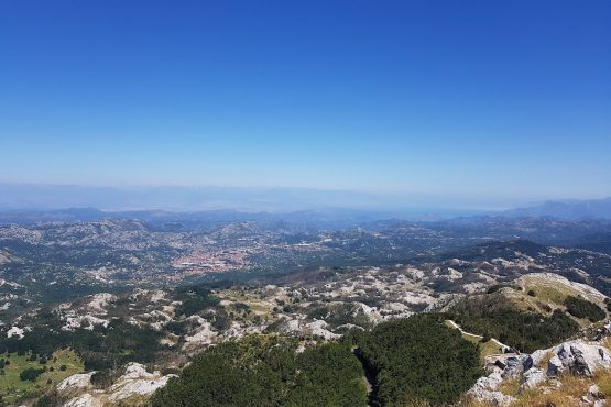 Magnificent views on our E-MTB Tour Montengro