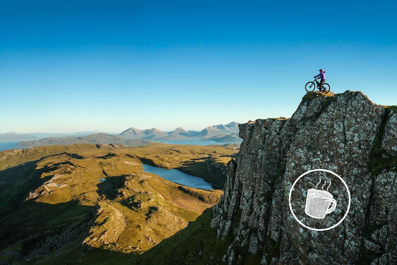 The wild beauty of Scotland, MTB tour Skye + Raasay