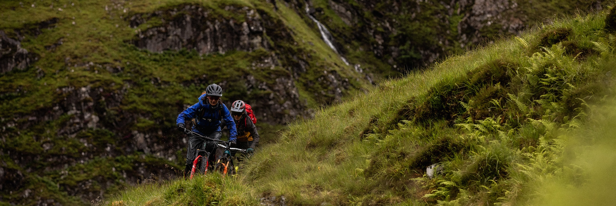 Manon leading the way in the Highlands, Back to Why