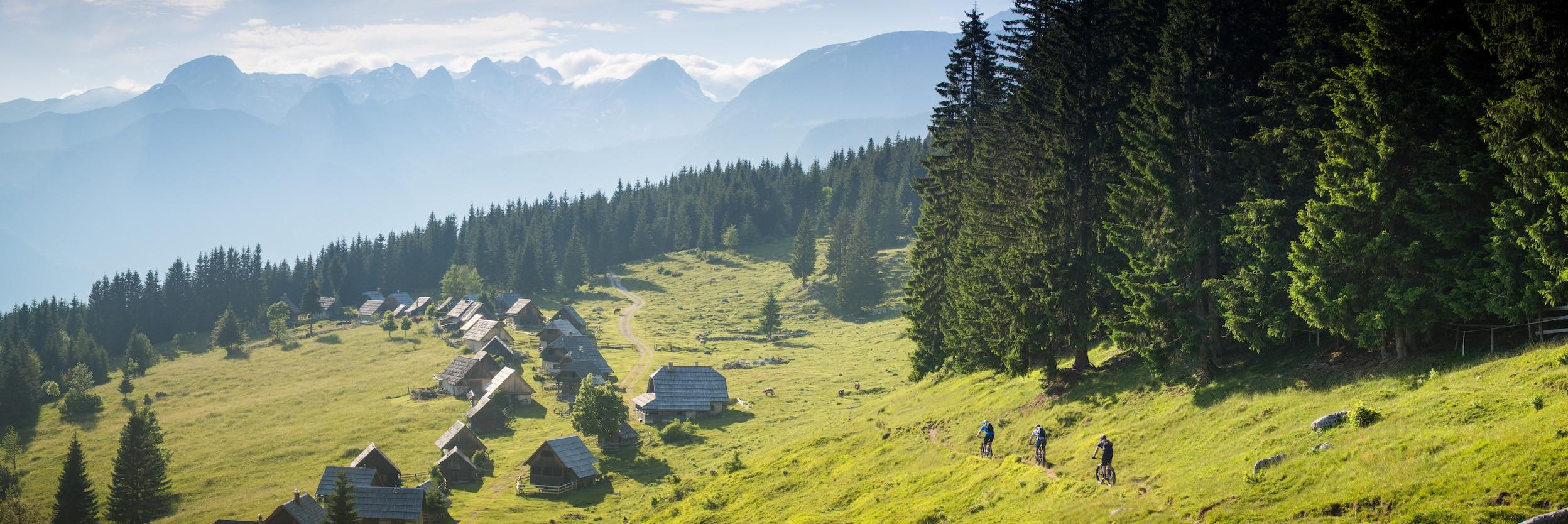 Mountain bike tours, Julian Alps Slovenia